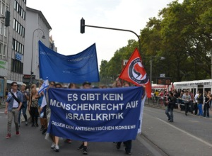 Demonstration in Köln