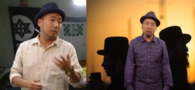 Blumio rappt vor antisemitischer Symbolik